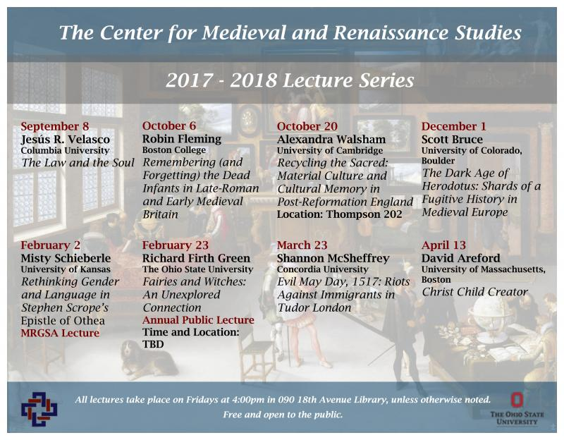 2017-2018 Lecture Series Poster