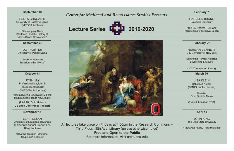 Lecture Series 2019-20
