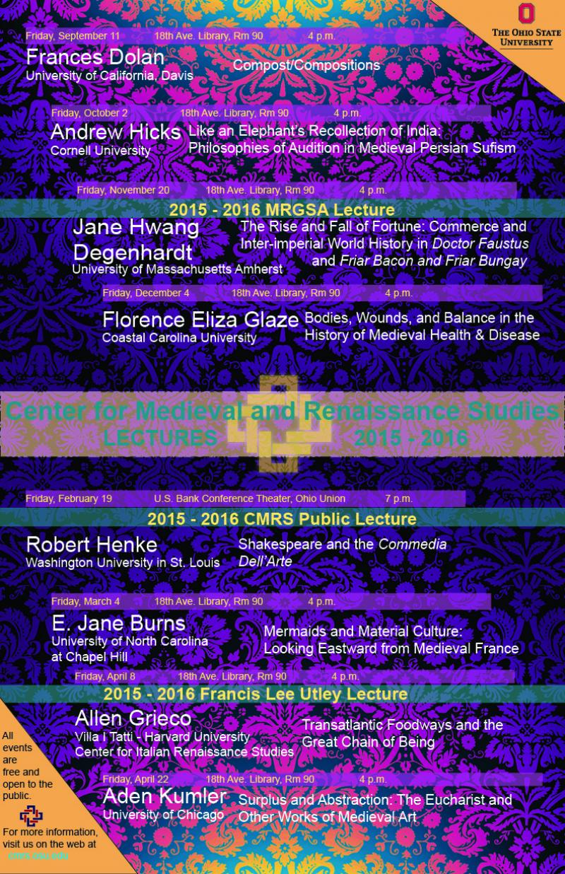 2015-16 Lecture Series Lecture Series