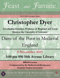 Dyer Lecture Flyer