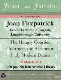 Fitzpatrick Lecture Flyer