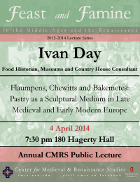 Ivan Day Lecture Flyer