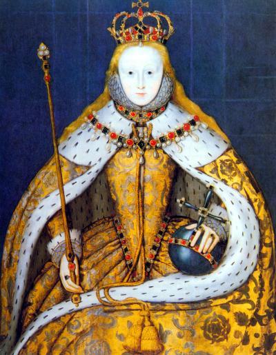 Elizabeth I Coronation Portrait